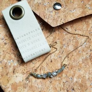 Anthropologie by Tai - Labradorite Stone Necklace